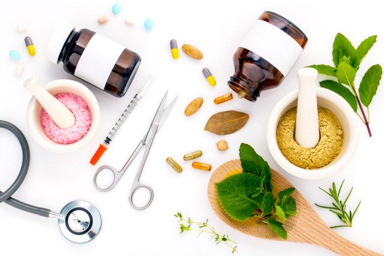 kombinasi obat herbal dan obat kimia